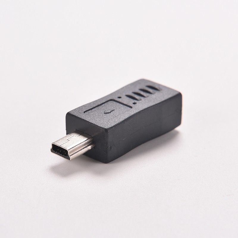 2019  Wholesale Phone Micro Mini USB Female To Mini Micro USB Male Adapter Charger Connector Converter Adaptor Free Shipping