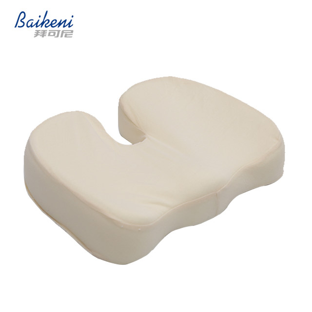 Ergonomic Hemorrhoid Car Seat Cushion Memory Foam Coccyx Orthopedic Chair  Cushion Relief Pain Sciatica For Office Home Almofada