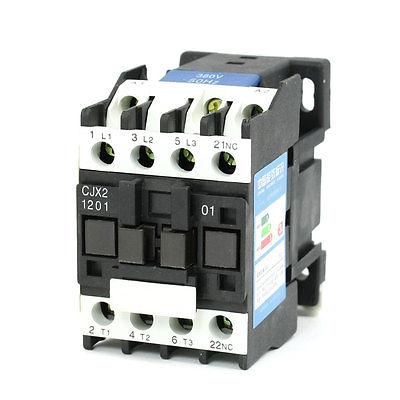 цена на CJX2-1201 AC Contactor 380V 50/60Hz Coil 12A 3-Phase 3-Pole 1NC