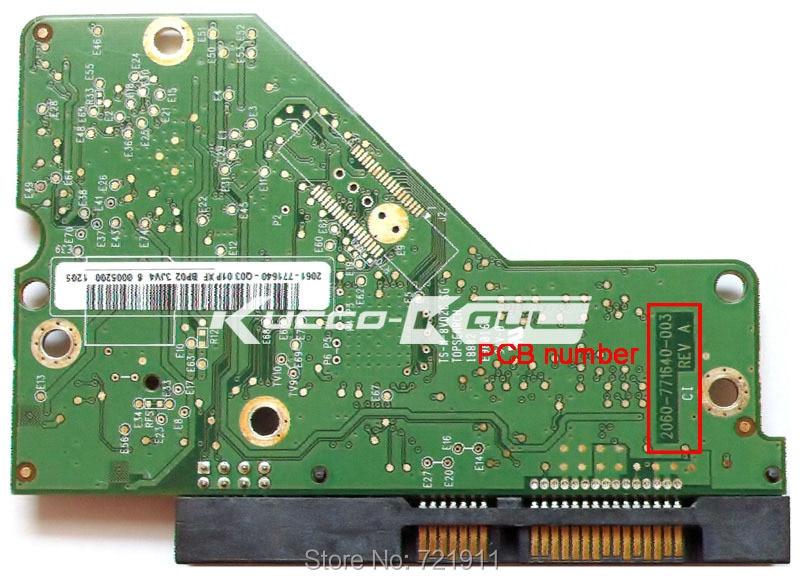 HDD PCB Logic Board Circuit Board 2060 771640 003 For 3.5 Inch SATA Hard Drive Repair Hdd Date Recovery