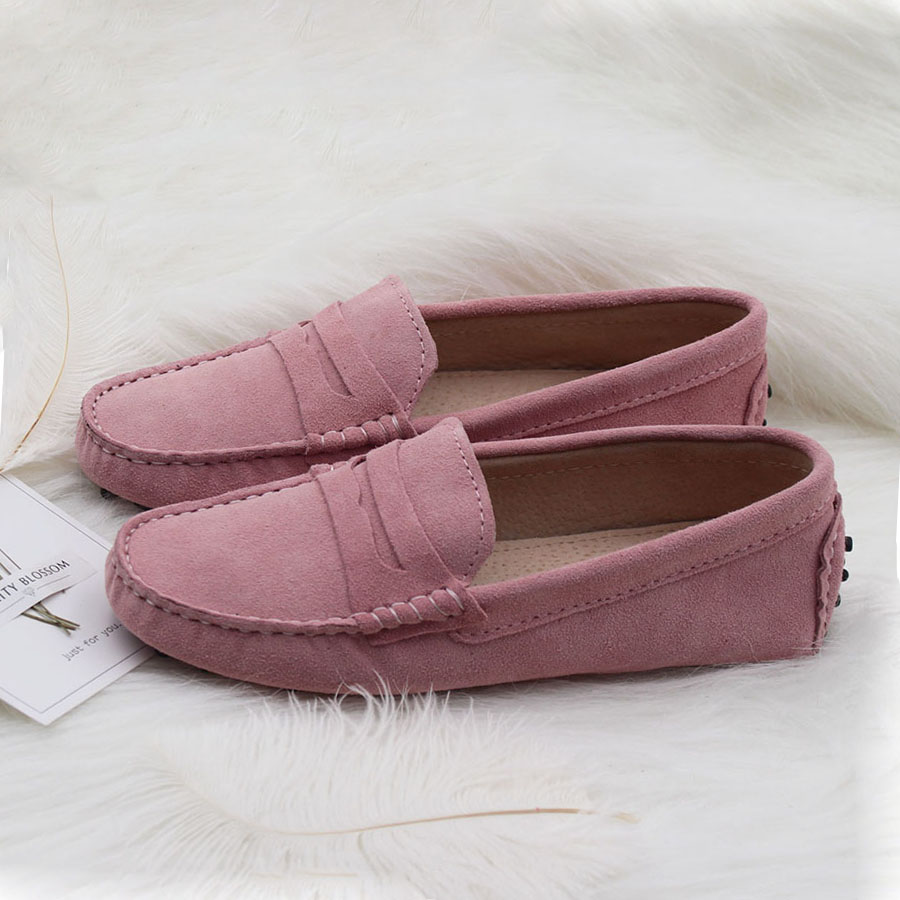 6c4f32cc0d755 High Quality 2019 New Women Flats Genuine Leather Women Shoes Brand Driving  Shoes Spring Summer Women Casual Shoes. MIYAGINA ...