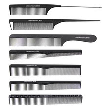 7 шт. Профессиональная укладка волос расческа набор мастер парикмахерская расческа тонкие зубья расчески для бороды