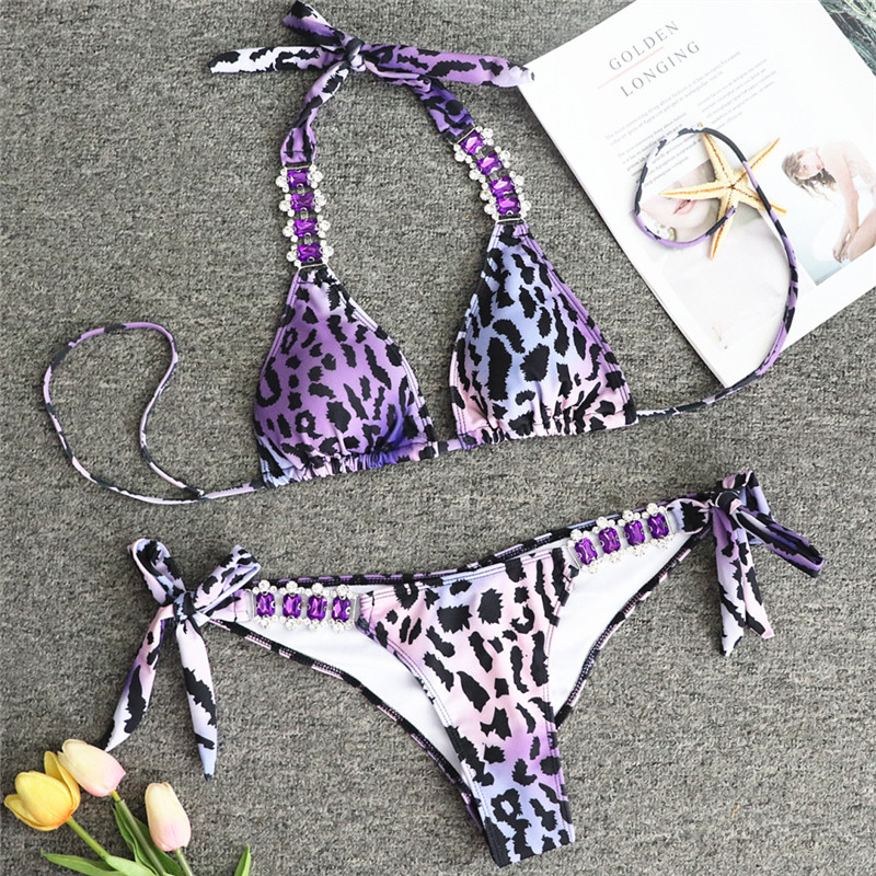 HTB198WHeRKw3KVjSZTEq6AuRpXaY Bikinx Snake print bikinis 2019 mujer bathing suit Triangle sexy female swimsuit Push up swimwear women bathers Micro bikini new