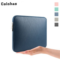 12 13 13 3 14 15 Inch Laptop Sleeve Minimalist Imitate Leather Inner Bag Business Travel