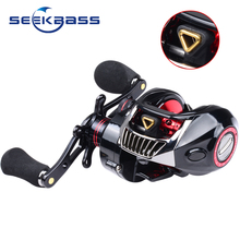 hot deal buy 2018 new product  magnetic brake system baitcasting reel 6kg max drag 12+1 bbs 7.1:1 high speed fishing reel