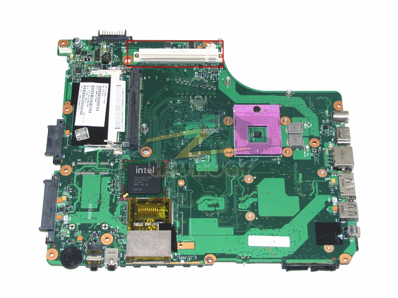 все цены на 1310A2171546 V000127060 for toshiba satellite a300 laptop motherboard gm45 ddr2 with graphics slot онлайн
