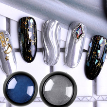 Get more info on the Biutee 8 Colors Holographic Chrome Nail Powder Nail Trends Metallic Chrome Powder & Rainbow Mirror Effect Nails Chrome Manicure