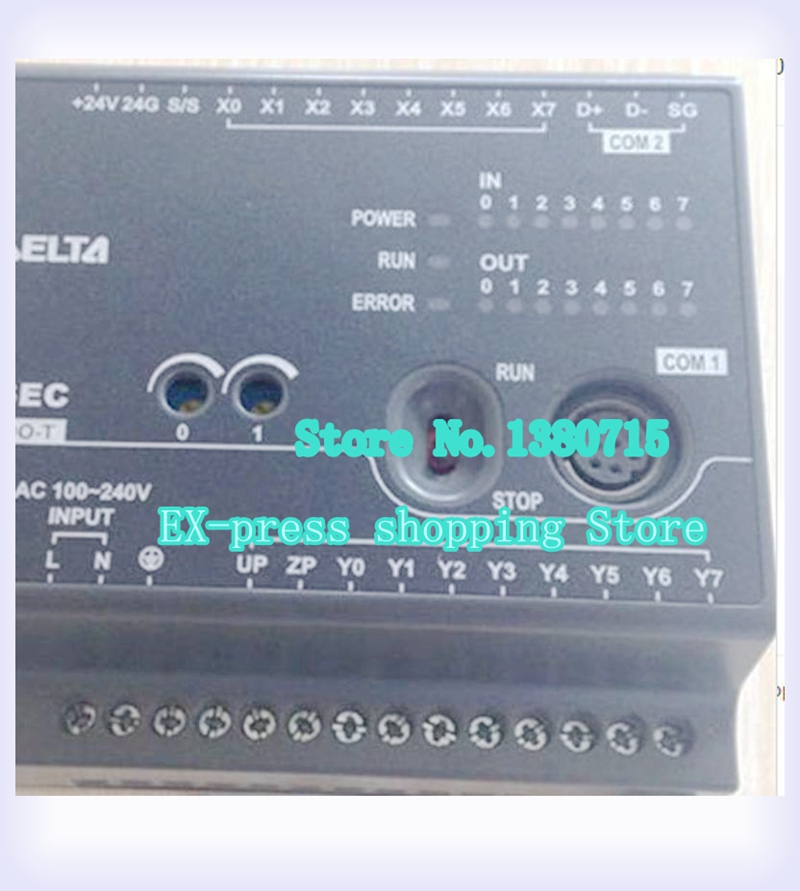 New Original DVP16EC00T3 PLC EC3 series 100-240VAC 8DI 8DO Transistor output new original dvp24ec00t3 plc ec3 series 100 240vac 12di 12do transistor output