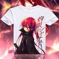 Shakugan No Shana  Short T-shirt Anime Cosplay T shirt Tops Tees