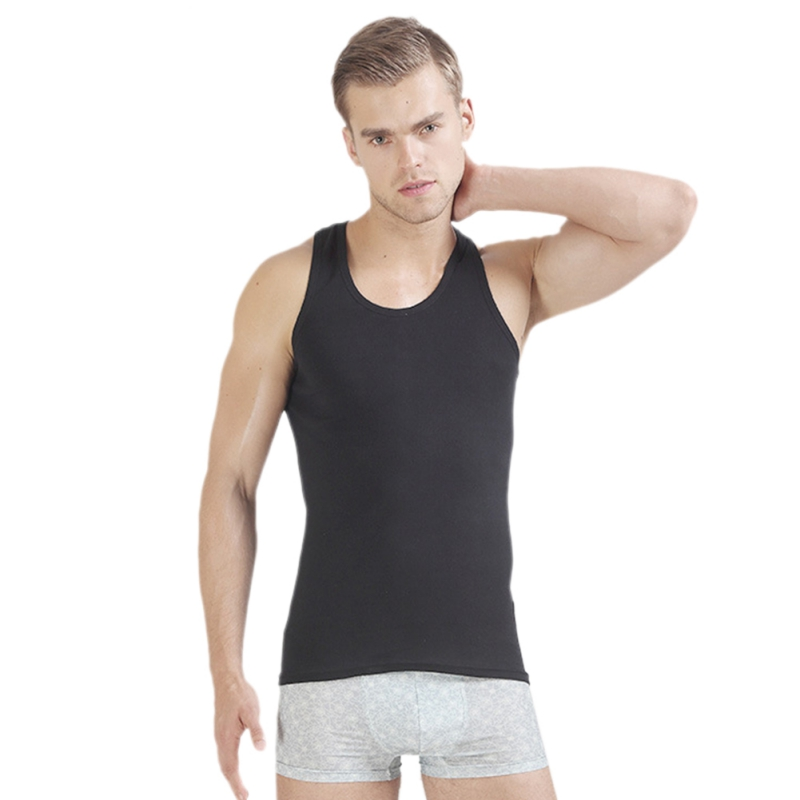 ROPALIA Men Boy Body Compression Base Layer Sleeveless Summer Vest Under   Top   Tees   Tank     Tops   Fitness Tights High Flexibility