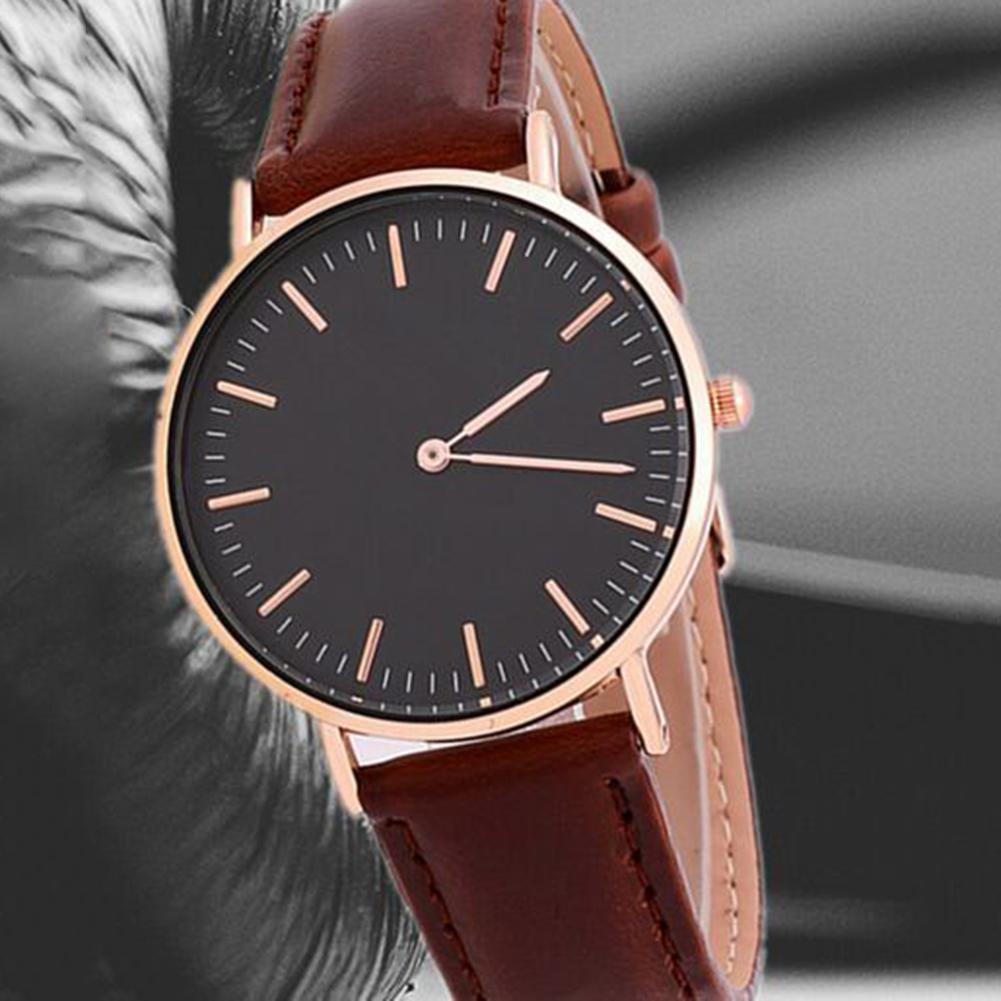 Hot Sale 2017 Fashion Women Watches Luxury Leather Watch Men Quartz Watch Relogio Feminino