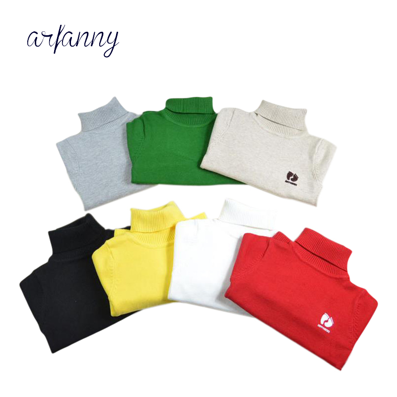 Baby Sweater Boys Cotton Soft Fall and Winter Candy colors boyclothes.1 2 Ygirl high-necked sweater High-quality infant clothing sweet high neck candy color sweater