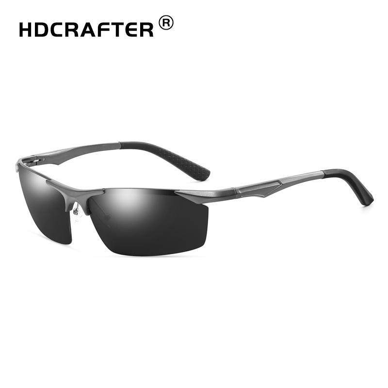 fa21521354170 Aliexpress.com   Buy HDCRAFTER Sport Men Polarized Sunglasses Retro Male  Driving Vintage Eyewears Accessories Outdoor Fishing Shades UV400 from  Reliable ...