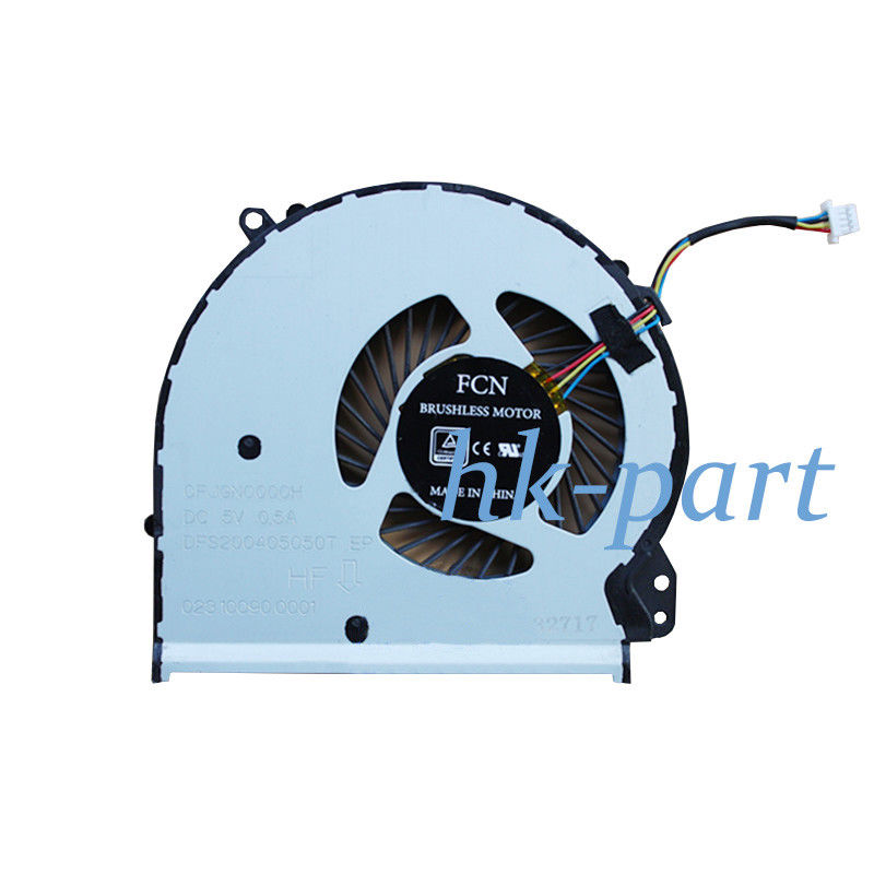 New for HP Notebook 17-X 17-Y series Laptop Cpu fan cooler P/N 856682-001 856681-001 4-wires 4-pin,FREE SHIPPING!! 4 wires laptops replacements cpu cooling fan computer components fans cooler fit for hp cq42 g4 g6 series laptops p20