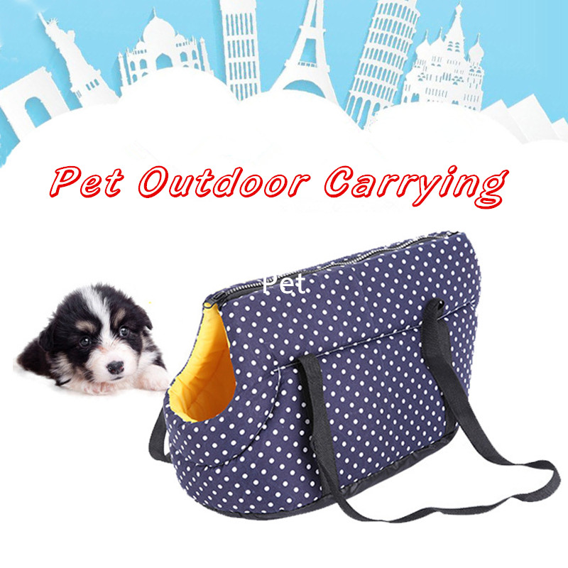 Pet Dog Cat Soft Backpack Shoulder Breathable Bags Carrying Outdoor Pet Dog Carrier Puppy Travel For Small Dogs Pet Products