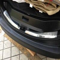 Für Toyota RAV4 2014 2015 2016 2017 2018 Edelstahl Innen Hinteren Stoßfänger Schutz Trunk Threshold Schutz Abdeckung 2 PCS-in Chrom-Styling aus Kraftfahrzeuge und Motorräder bei