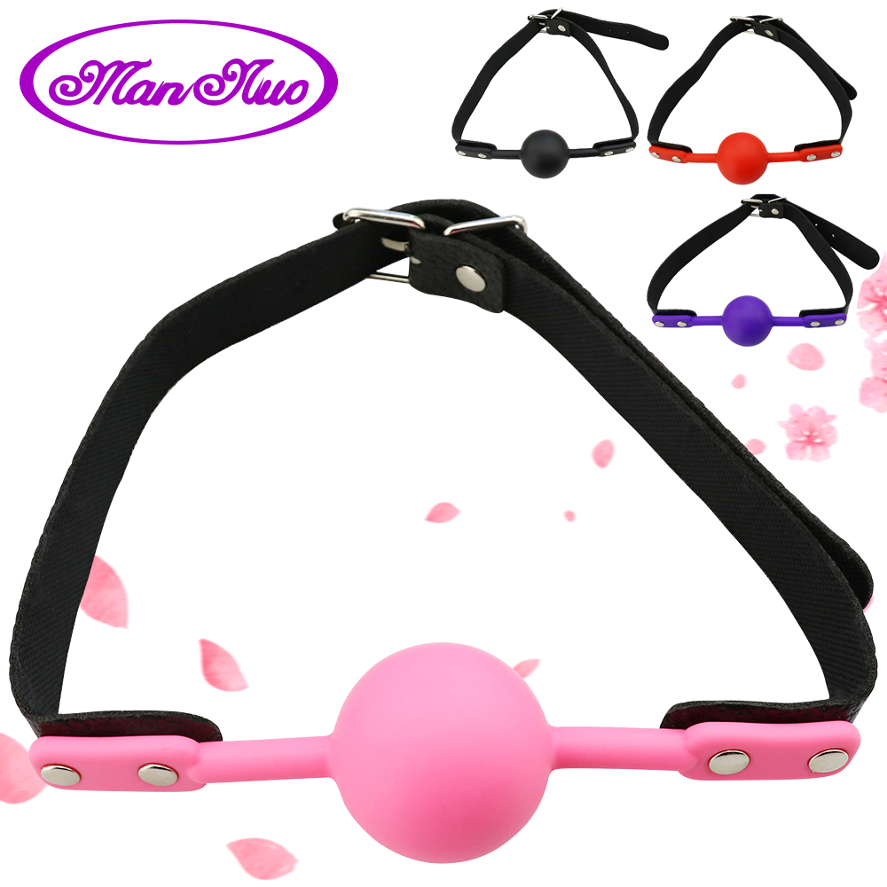 Big/Small Sexy Lingerie Hot Erotic <font><b>Toys</b></font> <font><b>Ball</b></font> Open Mouth <font><b>Gag</b></font> <font><b>Sex</b></font> Bondage Mouth Stuffed Adult Mouth <font><b>Ball</b></font> Exotic Accessories image