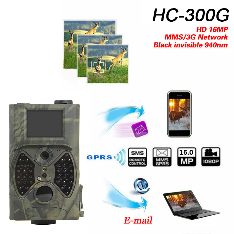 HC300 Hunting Camera 12MP HD 940NM Chasse Wild Camera night vision Scouting Hunter Chasse Trail Camera for outdoor hunting сковорода appetite grey stone с антипригарным покрытием диаметр 28 см