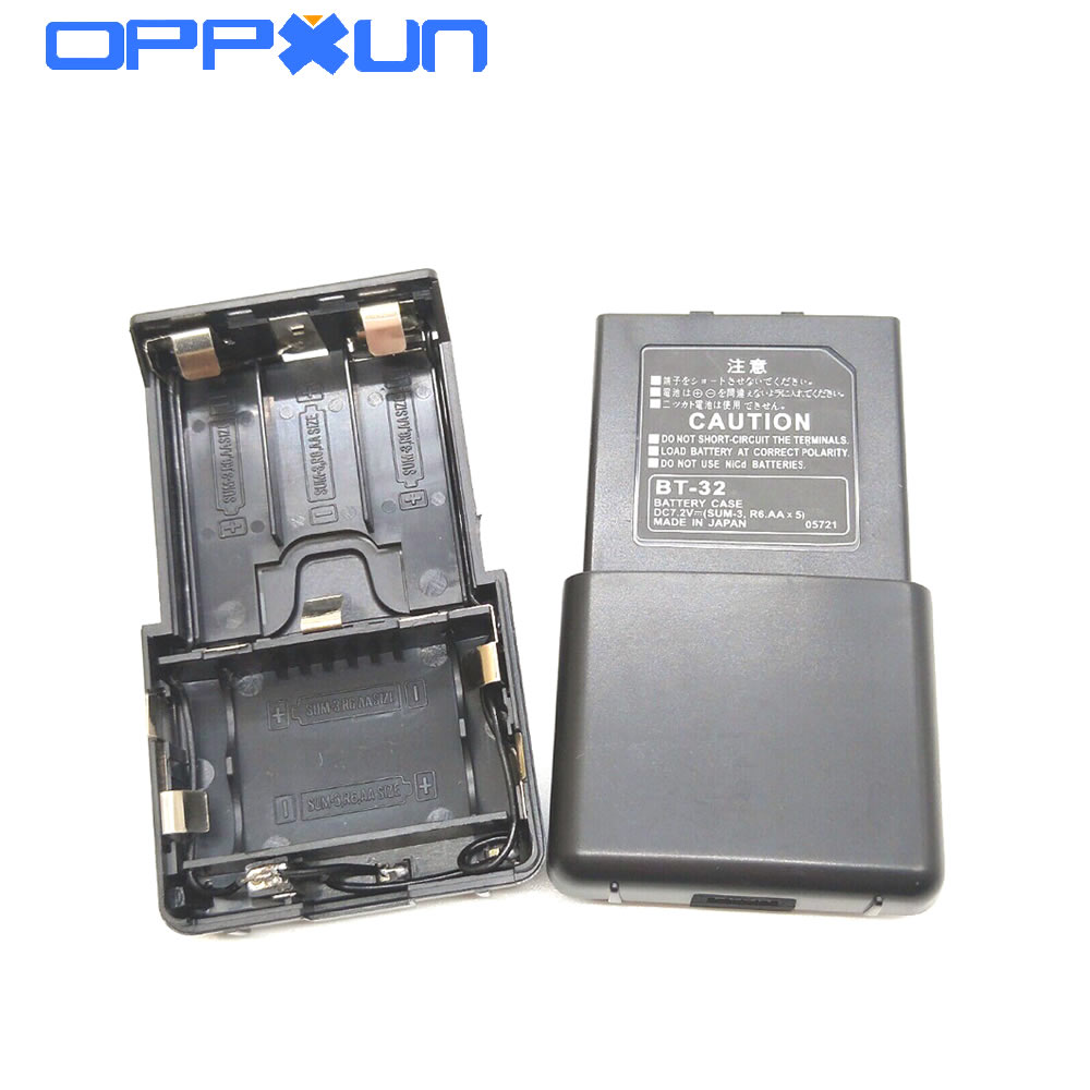 OPPXUN BT32 BT-32 5 AA Battery Case Box For Kenwood TK308,TK208,TH 22AT,TH42AT,TK-79A Two Way Radio Walkie Talkie Aaccessories