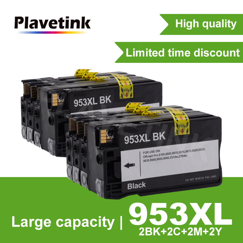 953XL <font><b>953</b></font> Full Ink Cartridge For HP953 OfficeJet Pro 8210 8218 8719 8720 8728 8730 8740 8710 P55250dw Printer For <font><b>HP</b></font> <font><b>953</b></font> XL image