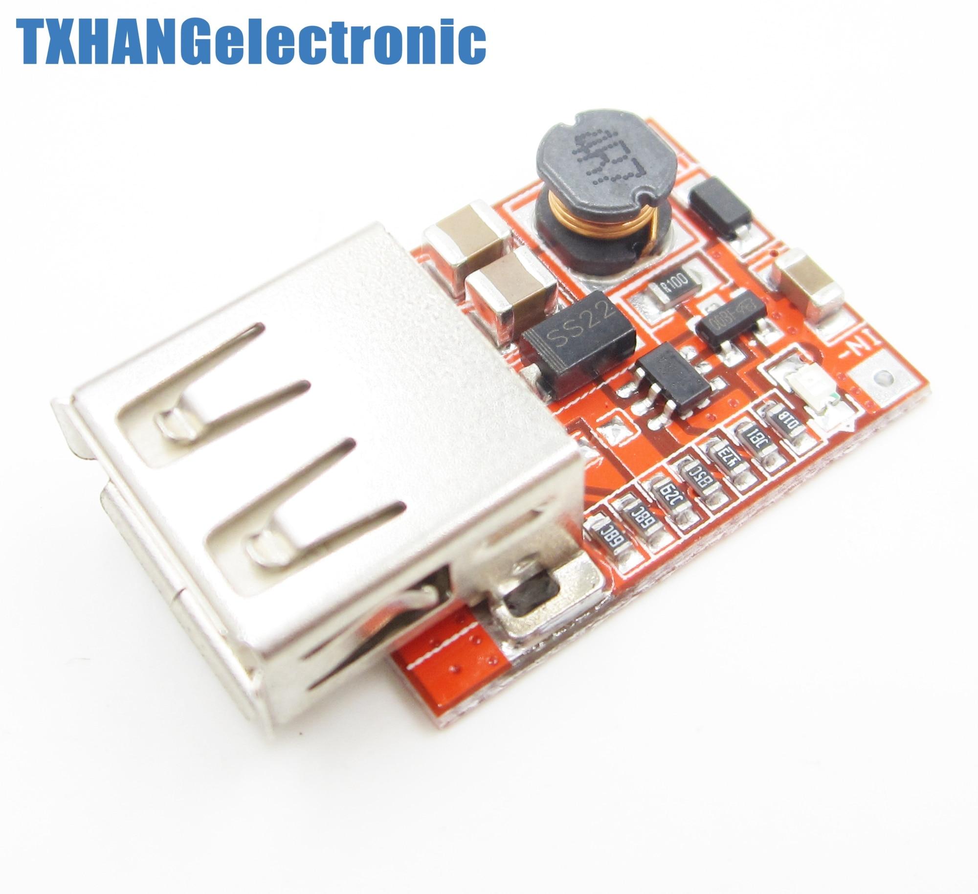 ᐃ3 V a 5 V 1A cargador USB para MP3 MP4 teléfono DC-DC Converter ...