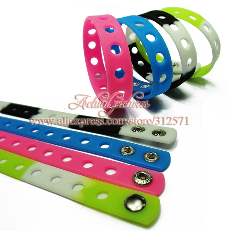 Free shipping Hot 14 styles 50pcs colorful 21cm silicone wristbands bracelets fit shoe charms fashion decoration children gifts free drop shipping 2017 newest europe hot sales fashion brand gt watch high quality men women gifts silicone sports wristwatch