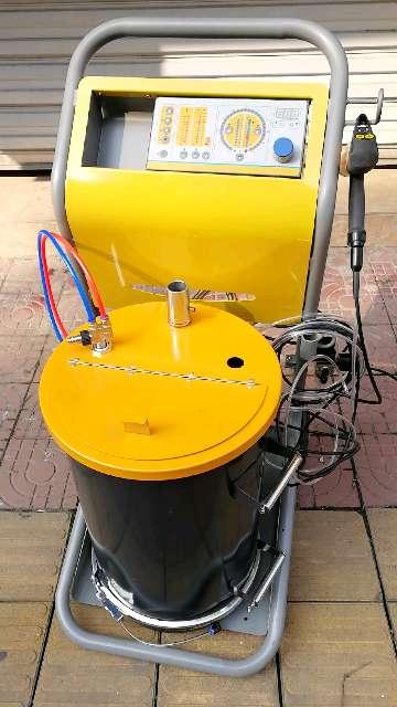 Électrostatique revêtement en poudre machine avec électrostatique poudre pulvérisation peinture pistolet