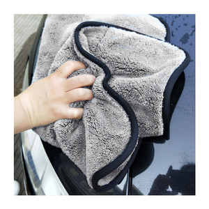 Image 5 - East Double sided Coral Velvet Home Cleaning Towels Super Absorbent House Cleaning Double layer Car Care  Washing Towel