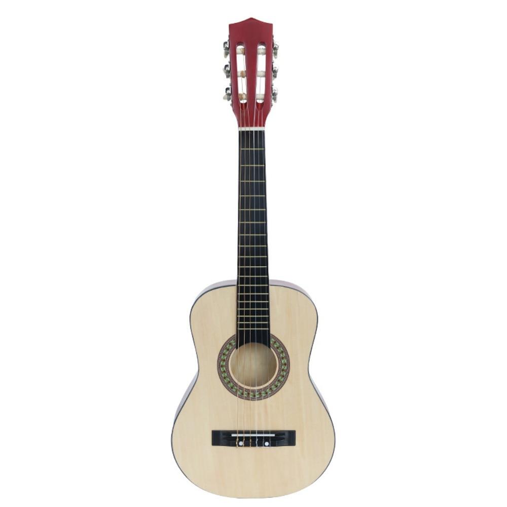 30 Inch Classical Wood Guitar 30 inch Guitar Beginner Muzică - Materiale școlare și educaționale - Fotografie 1