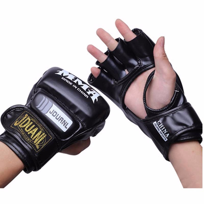 Half Finger Boxing Gloves Men Gants De Boxe MMA Luva Boxe MMa Gloves Fighting Training Luva De Box PU Sandbag Boxing Equipment 10