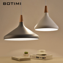 BOTIMI Nordic retro pendant light for dining kitchen lampadario vintage metal hanging lamp indoor luminaria light fixture nordic retro pendant lights for dining kitchen lampadario vintage metal hanging lamp indoor luminaria light fixtures