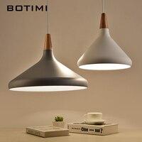 BOTIMI Nordic Retro Pendant Light For Dining Kitchen Lampadario Vintage Metal Hanging Lamp Indoor Luminaria Light