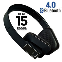 Free Shipping 2014 New Arrival Wireless Bluetooth Bass Stereo Headset Headphone With Microphone For Mobile Phone