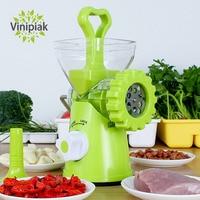 Multi functional Manual Vegetable Grinder Food Masher Chopper Sausage Stuffer Beef Meat Mincer Kitchen Tool Processors