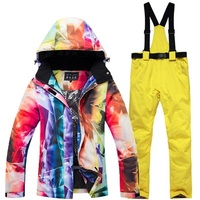 Women's Winter Ski Suit Cold Snow Weather Female Snow Board Jacket And Pant Ladies Skiing Clothes Waterpoof Breathable Ski Wear