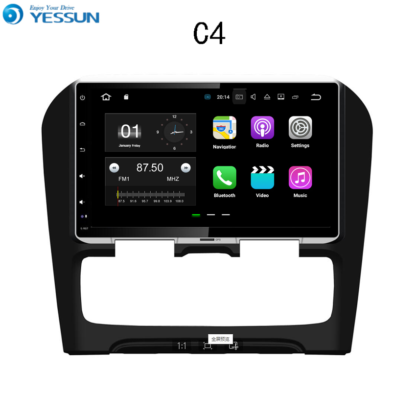 YESSUN Car Navigation GPS For Citroen C4 2012~2014 Android Audio Video HD Touch Screen Stereo Multimedia Player No CD DVD yessun for kia rio 2017 2018 android car navigation gps hd touch screen audio video radio stereo multimedia player no cd dvd
