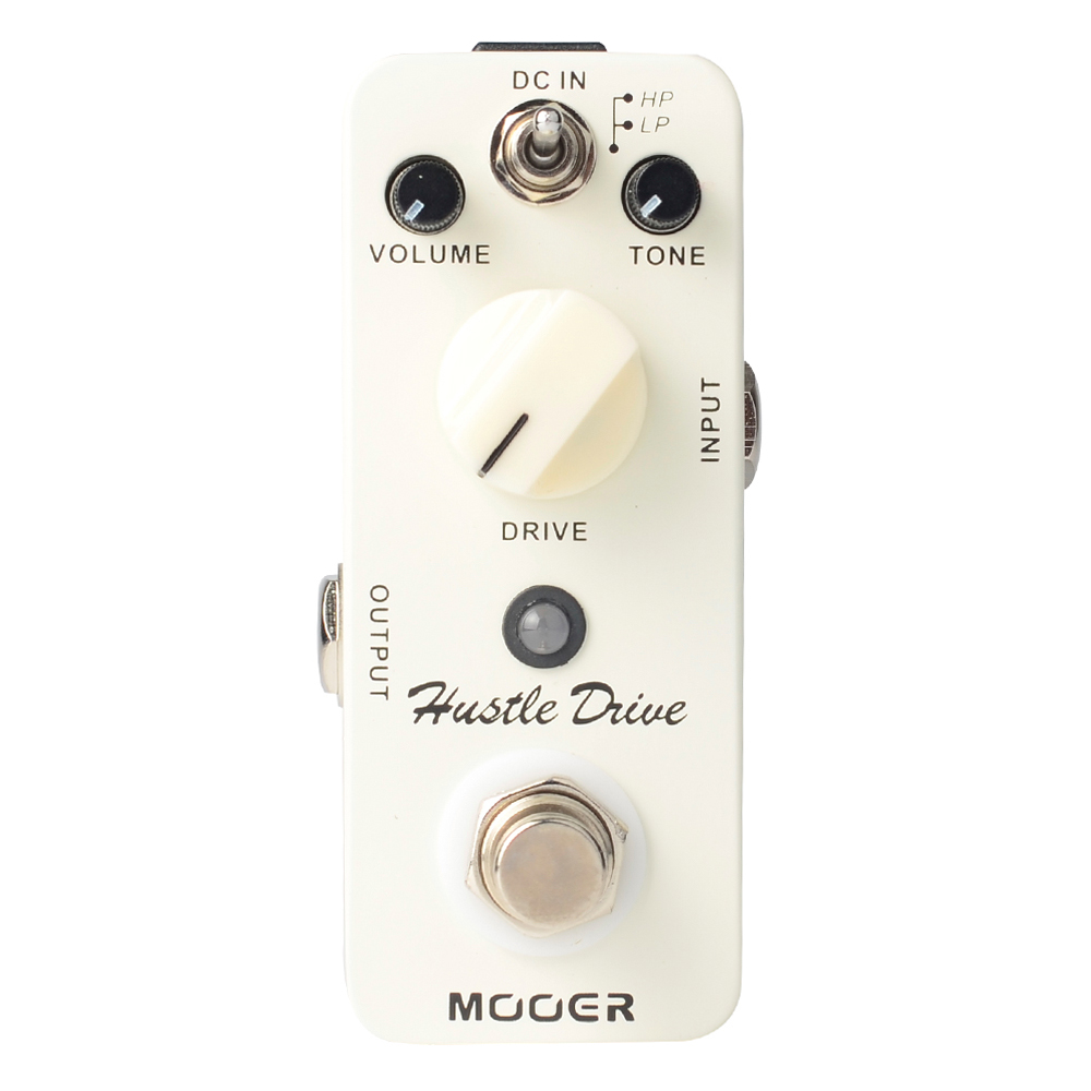 Mooer Hustle Drive Distortion Electric Guitar Effects Pedal Pedal True Bypass Micro Series MDS2 mooer hustle drive distortion guitar effect pedal micro pedal true bypass effects with free connector and footswitch topper