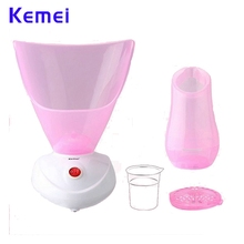 Kemei KM-6068 Facial Steamer Cleaner Deep Cleaning Beauty Face Steaming Device Machine Facial Thermal Sprayer Skin Care Tool gustala deep cleaning facial cleaner beauty face steaming device facial steamer machine facial thermal sprayer skin care tool