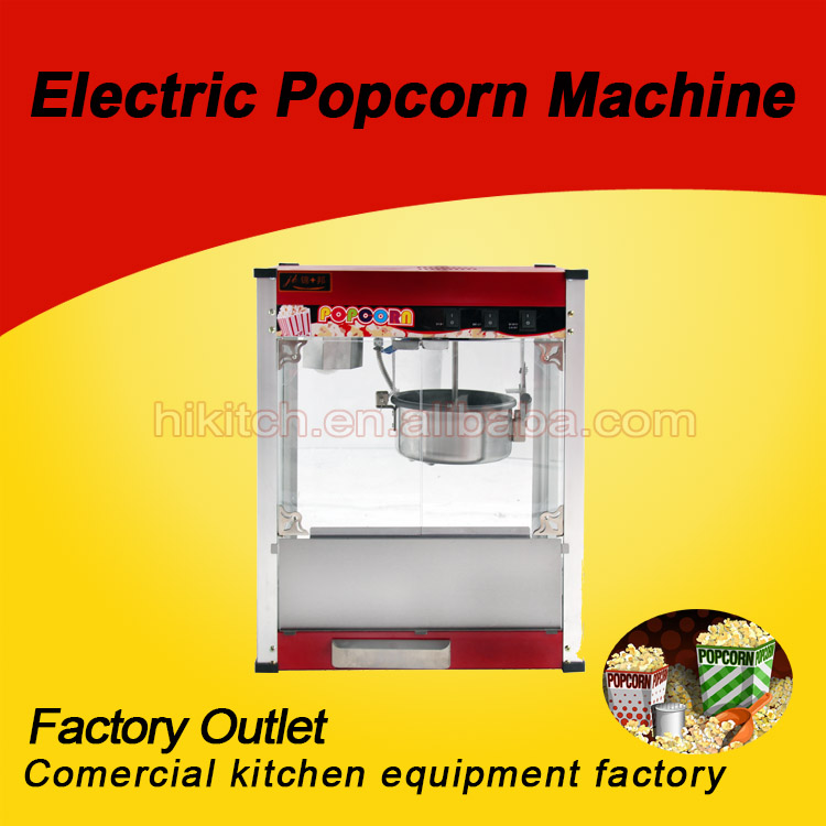 high quality commercial automatic commercial popcorn machine with ce for salechina - Popcorn Machine For Sale