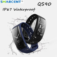 QS90 Smart Watch Fitness Bracelet Heart Rate Monitor Smart Band Blood Pressure Tracker Smart Wristband For