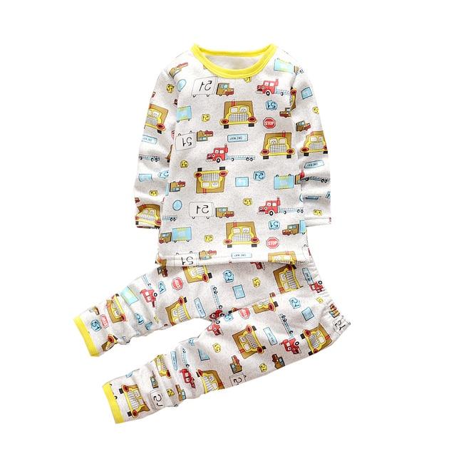 2017 Осень Зима мальчик девочка одежда наборы С Длинным рукавом топ + брюки спортивный костюм детская одежда установить новорожденного одежда