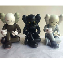 New Arrival KAWS OriginalFake This Is Not A Toy 22CM PVC Action Figure Toys Design Doll zy537