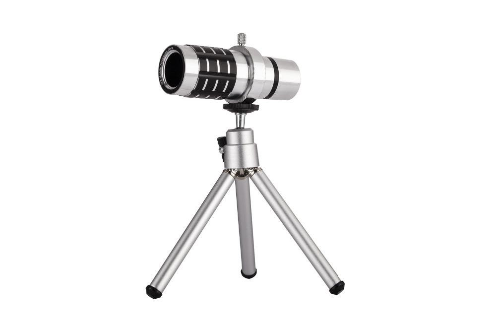 12X Telephoto Lens Lenses 4 In 1 Phone Fish Eye Lens Universal Wide Camera Lens ojo de pez For iPhone Lens olho de peixe Tripod 19