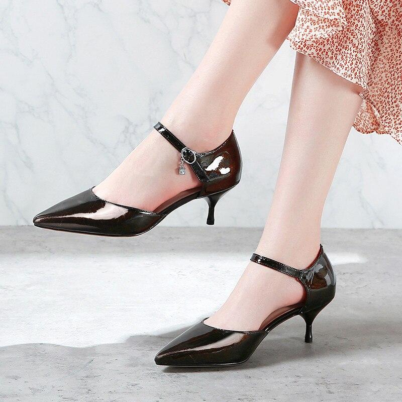 Boucle point Le Un Banquet Black silver De Mode 2019 Femmes Chaussures Romain Plus Avec Américain Un Européen Fait A Unique Et WHIeEY92bD