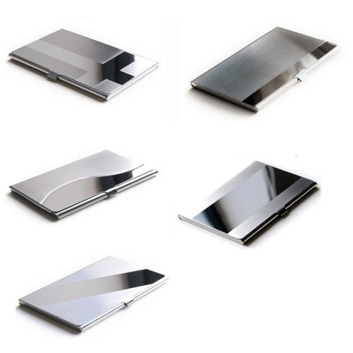 Storage Box Organizer Steel Silver Aluminium Business Id Name ...
