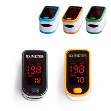 Портативный оксигемометр для пальца медицинское оборудование светодиодный прибор для измерения сердечного ритма Saturometro Heartrate монитор давления