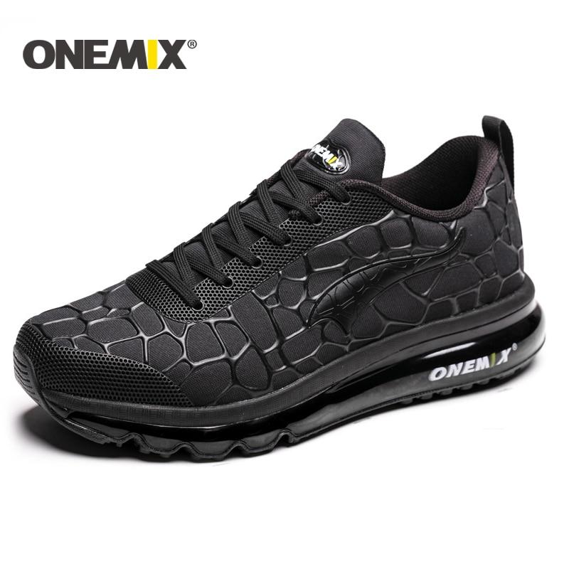 ONEMIX 2016 yastığı sneaker orijinal zapatos de evbre kişi idman - İdman ayaqqabıları - Fotoqrafiya 1