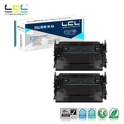 LCL 87A 87X CF287A CF287X 18000 stron (2-Pack czarny) kaseta z tonerem kompatybilny do HP laserjet enterprise M506dn/M506x/M506n