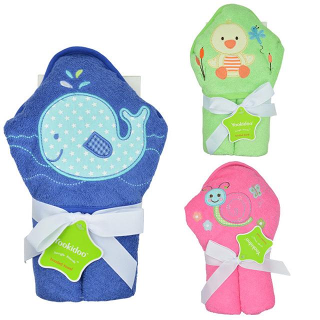 Bebê com capuz toalha de banho toalhas de Algodão macio capa de bain banho toalha guardanapo de bain bebes