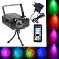 3 Вт RGB Лазерный Проектор Света Волна Воды Волновой Эффект Этап Лампы Диско DJ Лазерного Света Этапе Для Домашней Партии развлечения